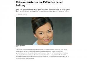Reiseveranstalter im ASR unter neuer Leitung