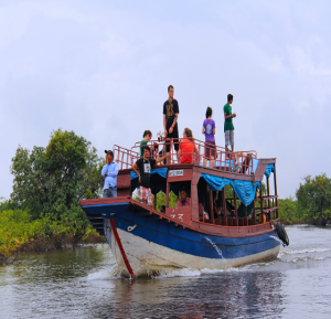 Der Tonle Sap: Von Phnom Penh nach Siem Reap