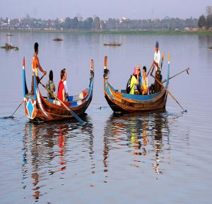 Flusskreuzfahrt von Bagan nach Mandalay mit der Sanctuary Ananda