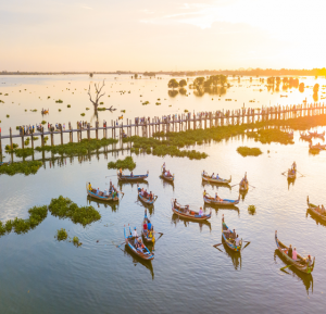 Flusskreuzfahrt von Mandalay nach Bagan mit der RV Paukan