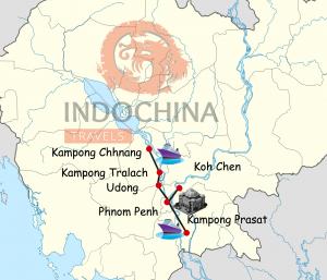 Der Mekong: Rundreise ab Phnom Penh
