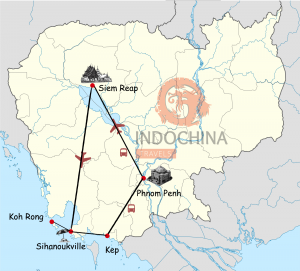 Kambodscha Highlights mit Badeurlaub auf Koh Rong