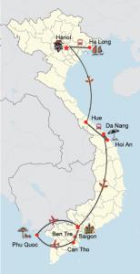 Vietnam Rundreise mit Badeurlaub auf Phu Quoc
