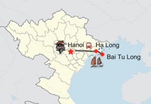 Halong Bucht Tour