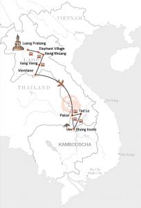 Laos Rundreise