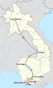 Highlights Laos und Kambodscha mit Mini Mekong-Kreuzfahrt