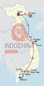 Klassische Vietnam-Rundreise von Hanoi bis Saigon mit Strandurlaub in Phan Thiet / Mui Ne