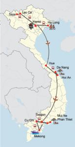 Vietnam komplett - von den Reisterrassen im Norden bis zu den Traumstränden im Süden