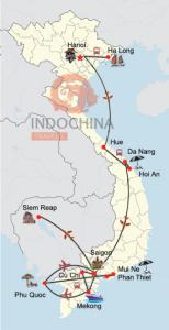 Private Erlebnis zweier Kulturen Vietnam und Kambodscha mit Badeurlaub in Phan Thiet / Mui Ne oder auf Phu Quoc