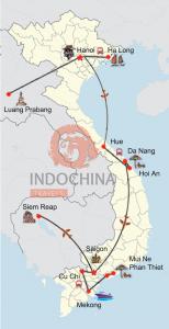 Vietnam, Laos & Kambodscha Reise