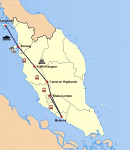 Dschungel, Tee und Badeurlaub - Quer durch Malaysia