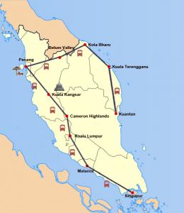 Von Kuala Lumpur bis Kuantan – den Zauber aus Kultur und Natur erleben