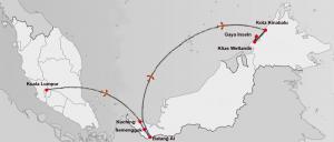 Entdeckungsreise durch Borneo mit Badeurlaub