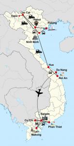 Private Vietnam Intensiv mit Sapa und Badeurlaub in Phan Thiet / Mui Ne