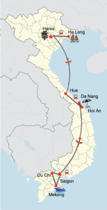 Sommerreise Vietnam mit Badeurlaub in Zentral Vietnam