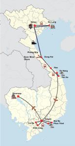 Vietnam ganz authentisch mit den Sakralbauten von Angkor und Badeurlaub in Phan Thiet