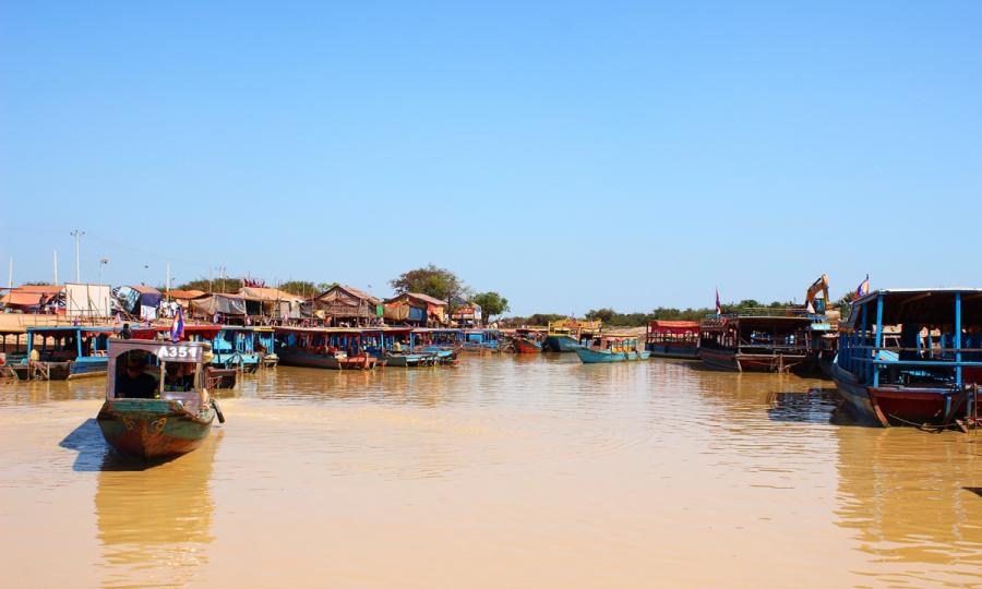 Der Tonle Sap: von Siem Reap nach Phnom Penh_33474