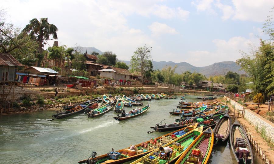 Flusskreuzfahrt auf dem nördlichen Irrawaddy mit der Belmond Orcaella_32766