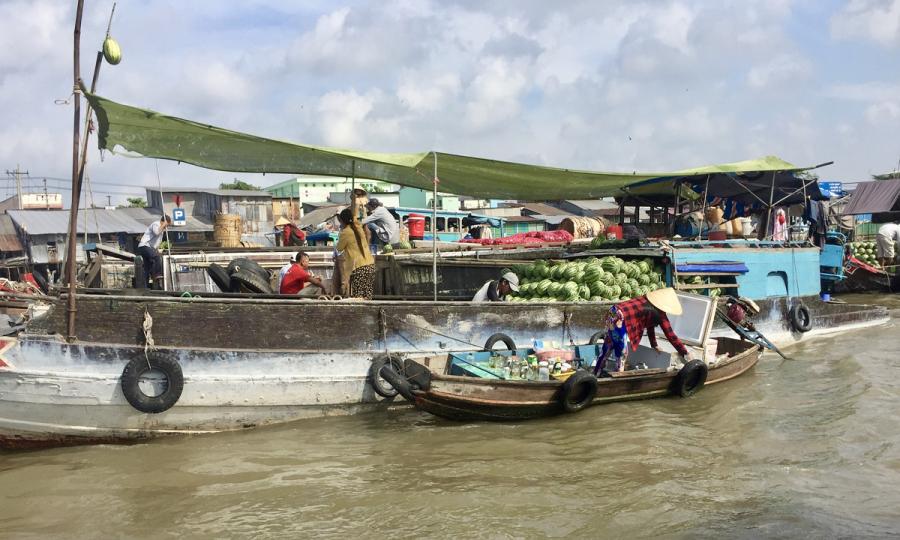 Saigon nach Phnom Penh mit RV Mekong Pandaw_33025